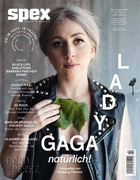 anime eyes makeup. Lady Gaga Without Makeup!